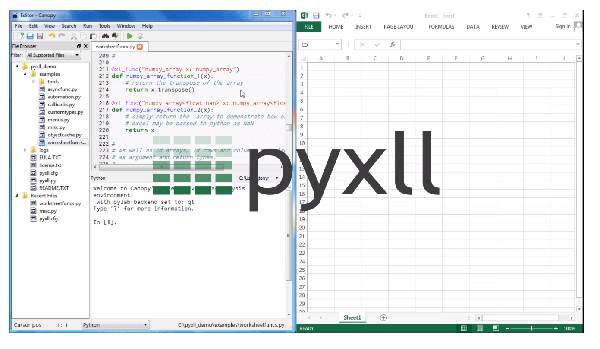 Python in Excel | PyXLL